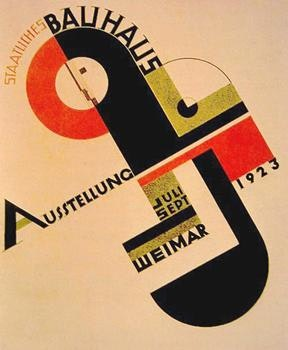The quintessential Bauhaus poster. I had this on my wall at Uni.