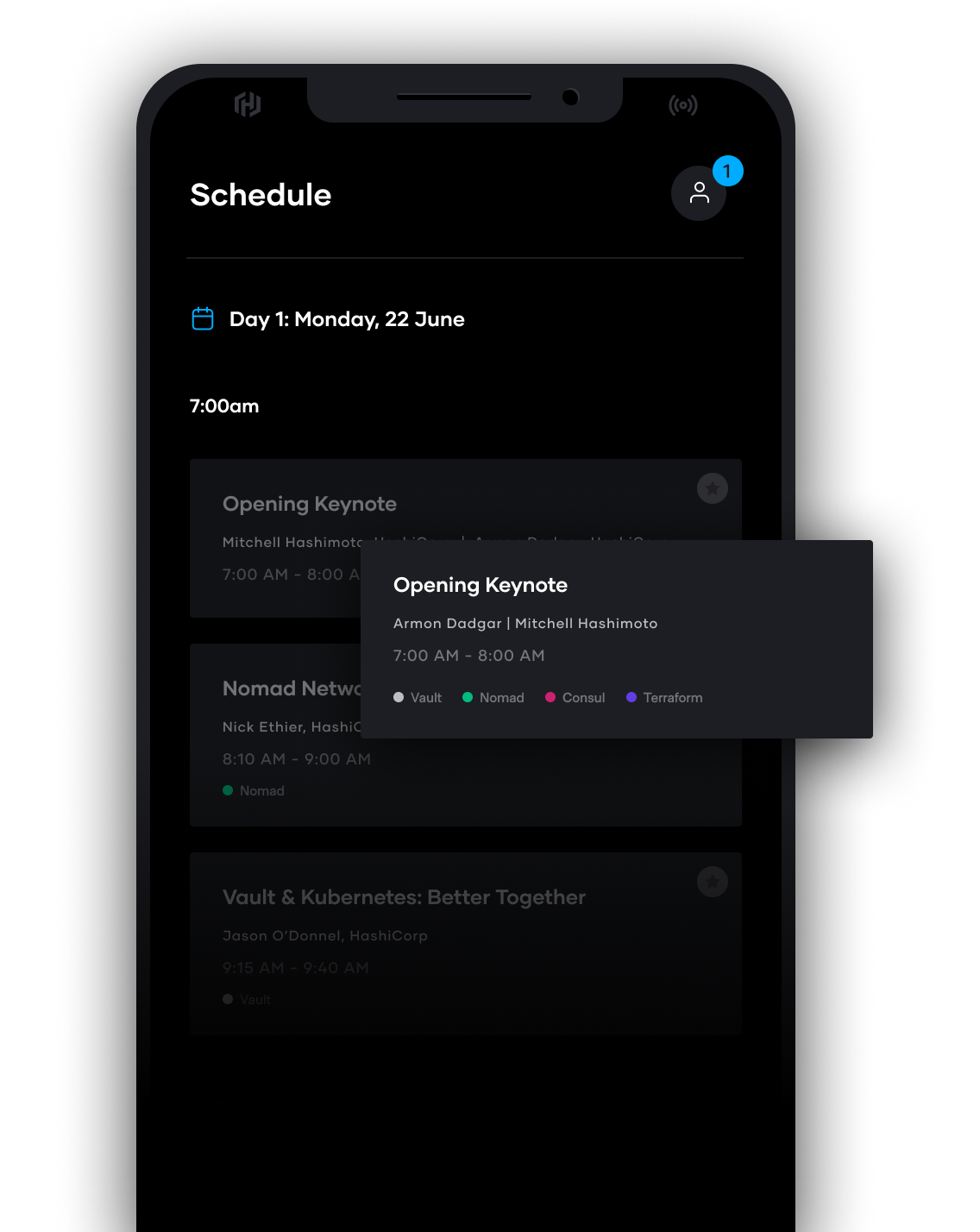 Full Schedule Available