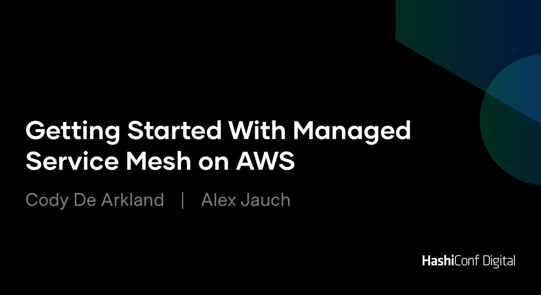Getting Started With Managed Service Mesh on AWS