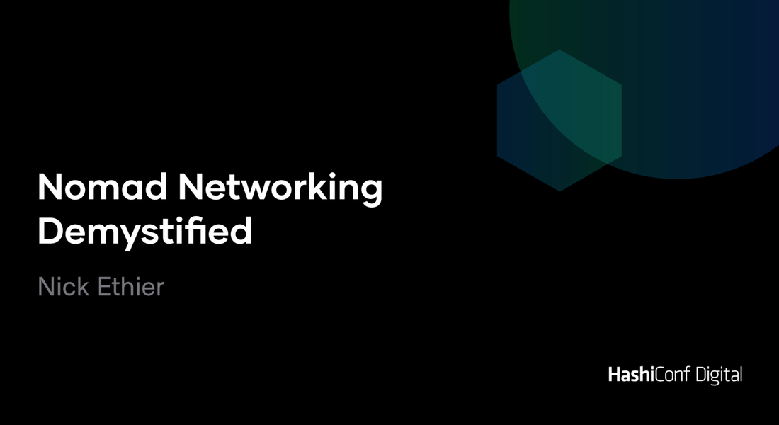 Nomad Networking Demystified