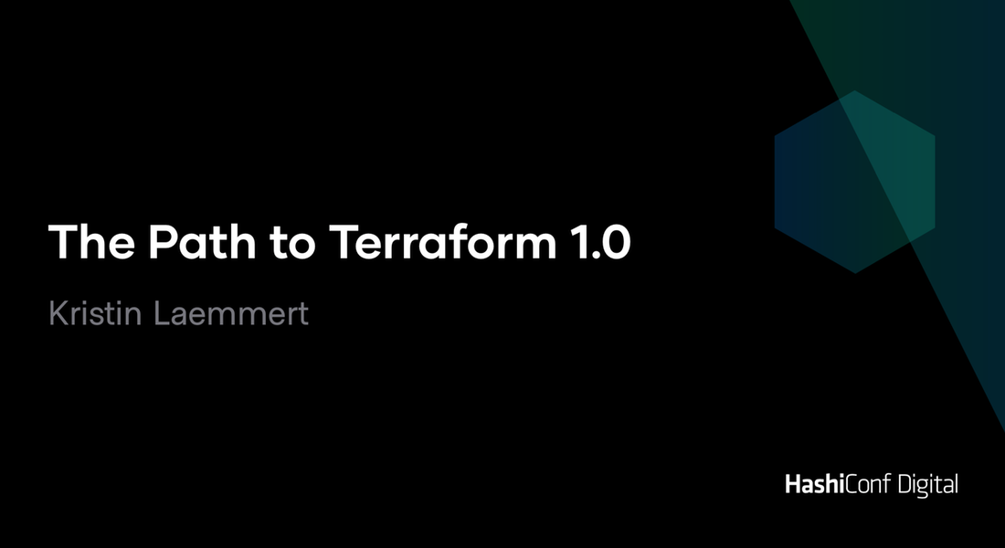 The Path to Terraform 1.0