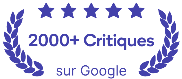 PayBright Canada, 5-star Reviews, High Google Ratings, 2000+ Google Reviews Badge