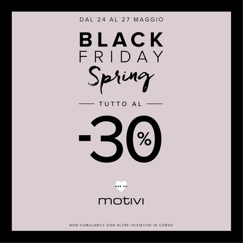 Black Friday Spring