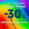 Re Sole Family&Friends -30% sconto