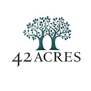 42 acres