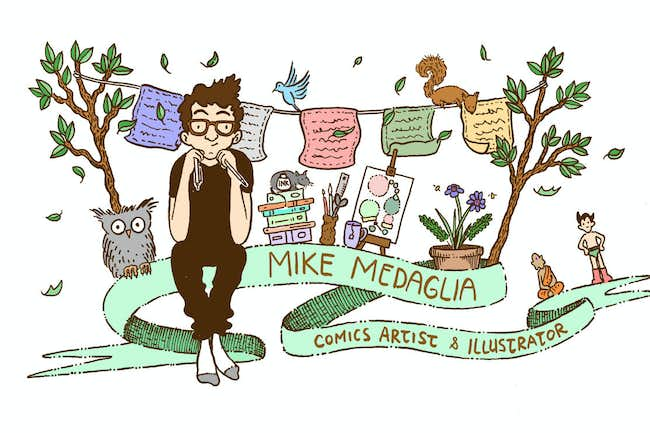 The Illustrated Mind of Mike Medaglia Augusta Bruce Interviews