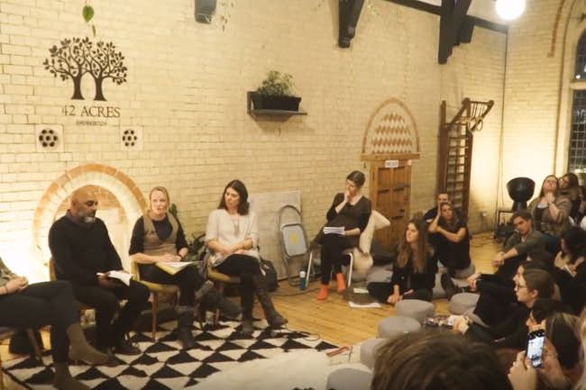 Radical Wellbeing, Advaya Initiative Network of Wellbeing Event, 12 February 2019