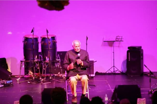 Satish Kumar Meditation & Talk on activism, spirituality, interconnection & finding your purpose