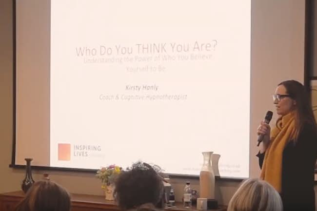 Kirsty Hanly: Who Do You Think You Are? Harness the Connecting Power of Your Thoughts
