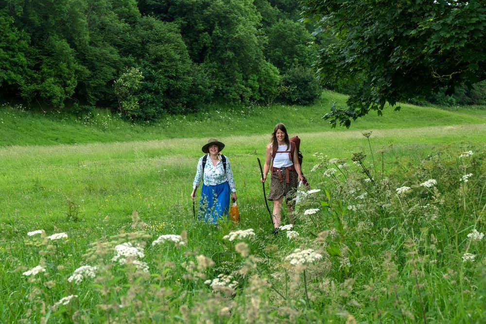 indigenous roots pilgrimage walking