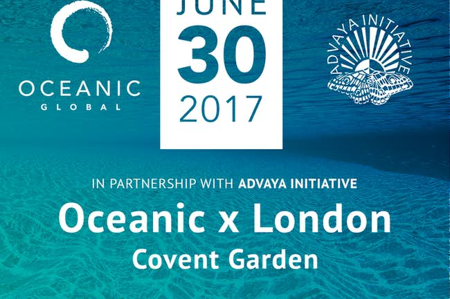 OCEANIC xLONDON: Oceans Conservation & Creativity