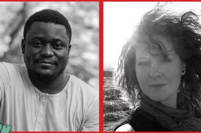 Bayo Akomolafe and Toni Spencer