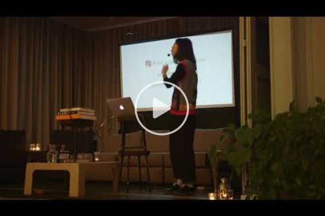 dian-jen li: post-carbon fashion: regenerative sustainability activism'