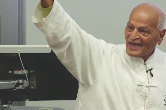 "Satish Kumar: ""Is Ecology Relevant?"""