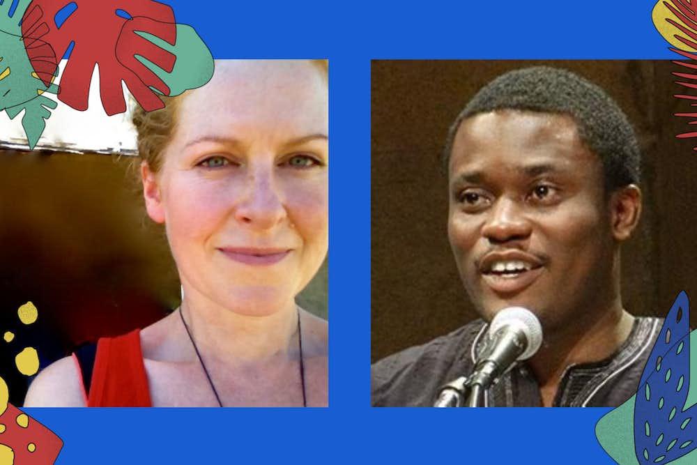 Bayo Akomolafe and toni spencer advaya events