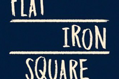 flat iron square logo events
