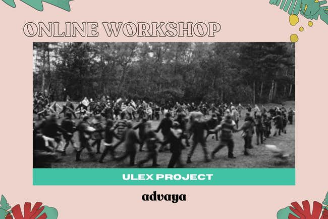 ulex project, online workshop, regenerative activism