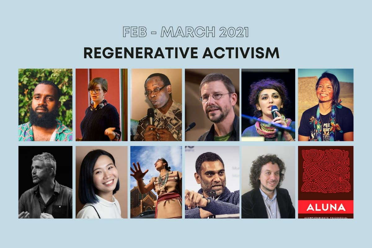regenerative activism, building social movements, climate justice,