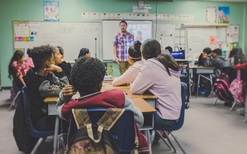 Kids attending a flipped classroom