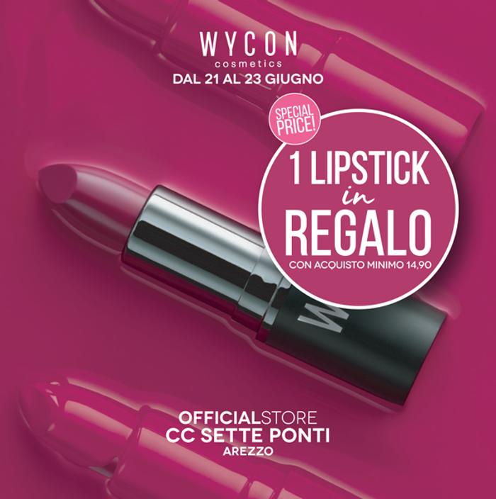 1560504595 flyerarezzo 1 lipstick in omaggio