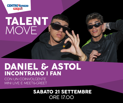 Talent Move Tappa di Arezzo