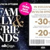 FAMILY&FRIENDS EXTRA DAY 27 OTTOBRE