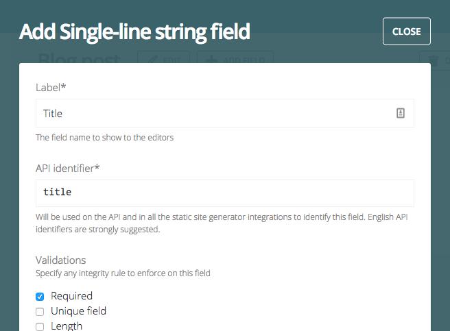 Introducing Slug fields - DatoCMS