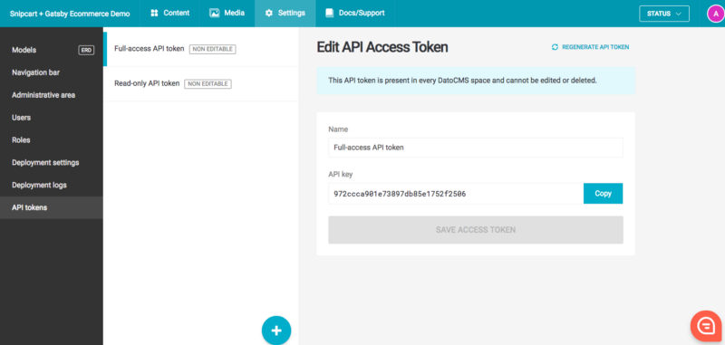Api Access Token