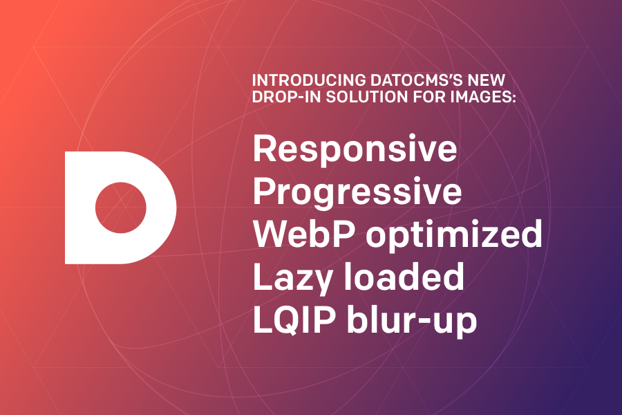 DatoCMS offers responsive, progressive, lazy loaded images in one solution