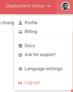 Change language of CMS UI