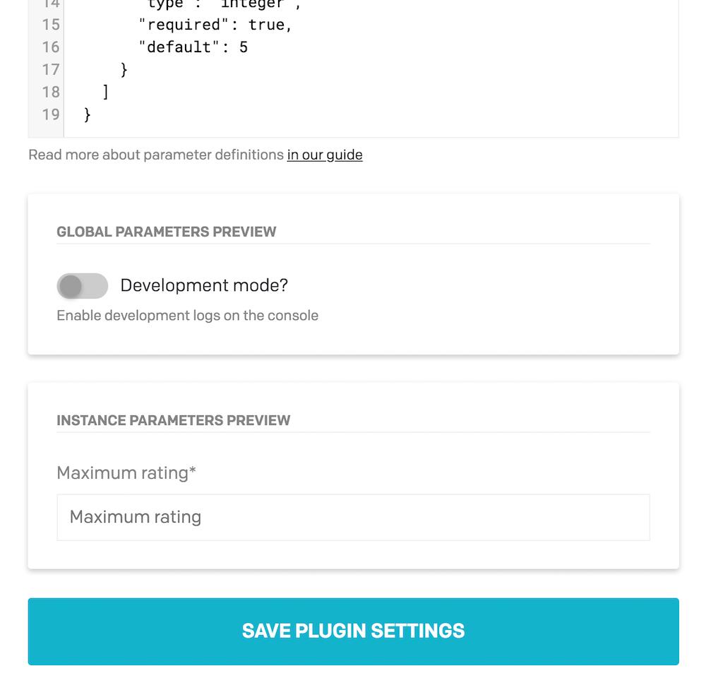 Plugins SDK - Creating a new plugin - DatoCMS Docs