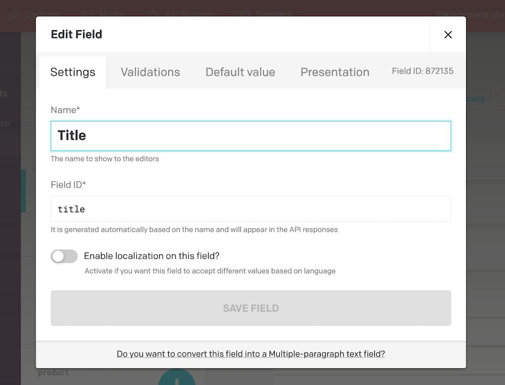 Hugo - Retrieve fields values - DatoCMS Docs