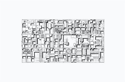 (Candilis, Josic, Woods and Schiedhelm – 1963) Based on the model of an Arabic Medina.