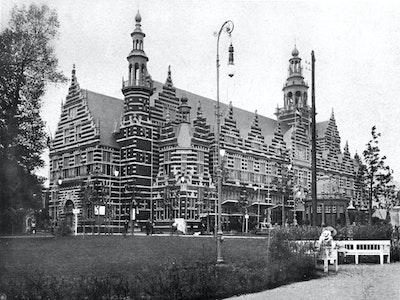 1910, Brussels, Architect: Willem Kromhout (1864–1940)