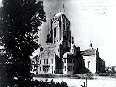 1915, San Fransisco, Architect: Willem Kromhout