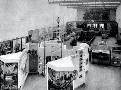 1935, Brussels, Architects: Dirk Roosenburg (1887–1962)
