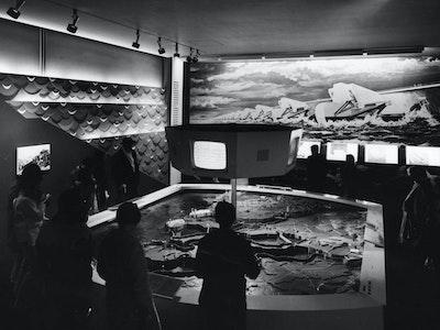 1967. Montreal,  Architects: Wout Eijkelenboom (1924–2013)  en Bram Middelhoek (1923–2012)  met George F. Eber