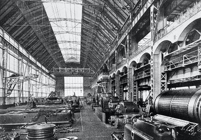 AEG Turbine Factory, Peter Behrens, Berlin, Germany, 1909