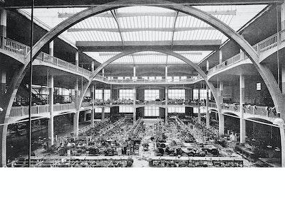 Les Ateliers Esders, August Perret, paris, France, 1919-1921