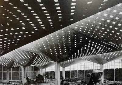 High Life, Textile Factory, Félix Candela, Coyoacan, Mexico, 1954-1955