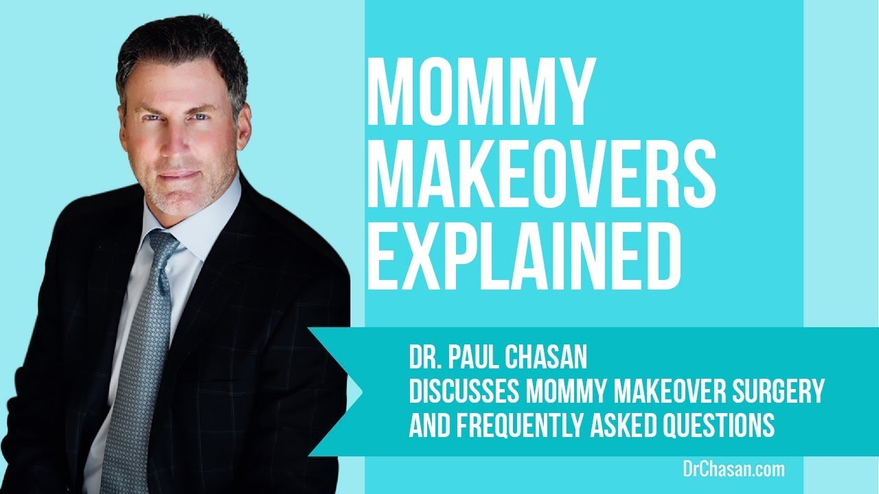 Dr. Chasan discussing Mommy Makeover surgery