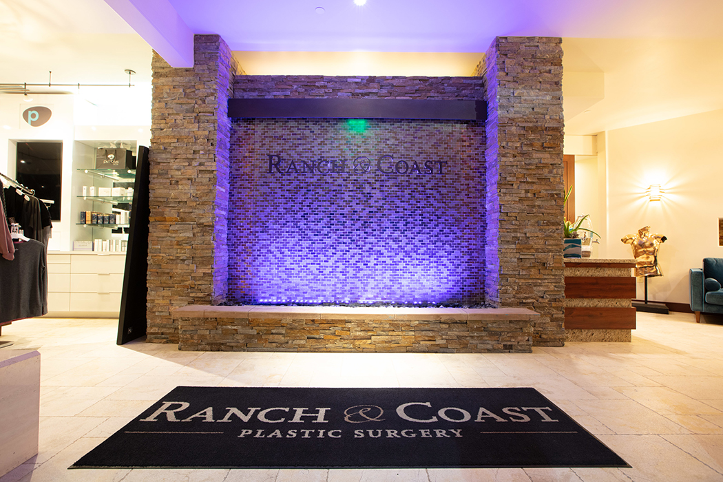 Entrance to Ranch & Coast Plastic Surgery