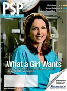 Plastic Surgery Practice magazine cover