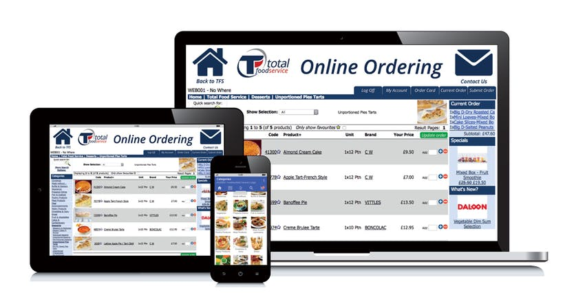 Lady Lodge Online Ordering on Laptop iPad tablet and iPhone