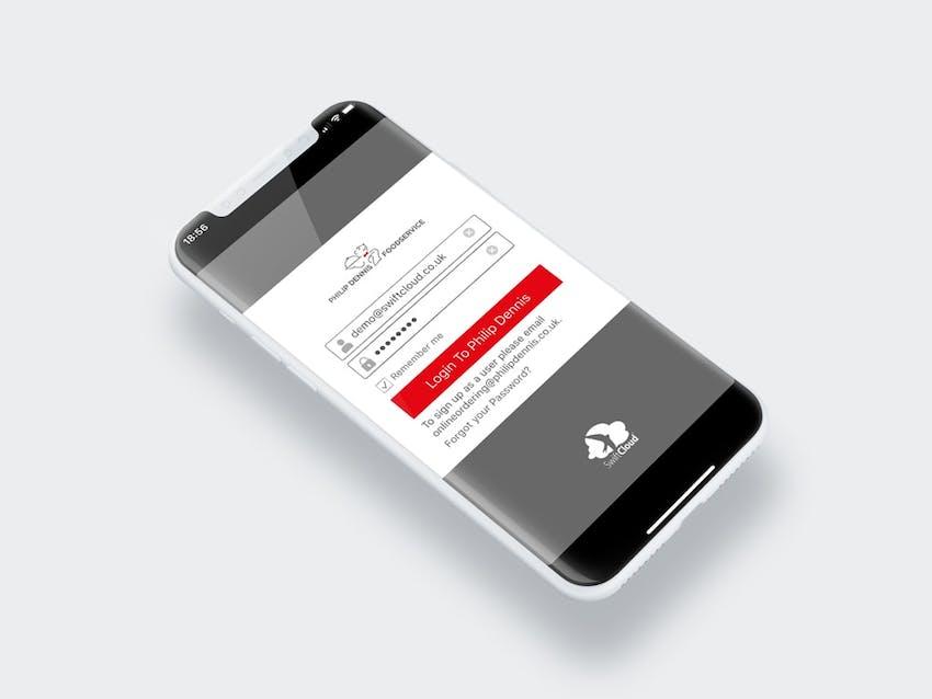 SwiftCloud mobile ordering app
