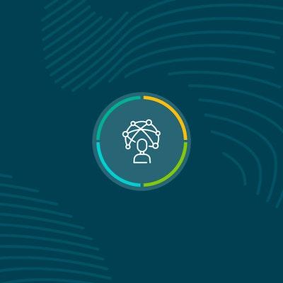 dark blue background with fingerprint mural with centralised erudus datapool logo