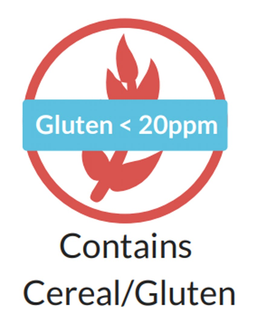 The New Gluten Claim Icon Label