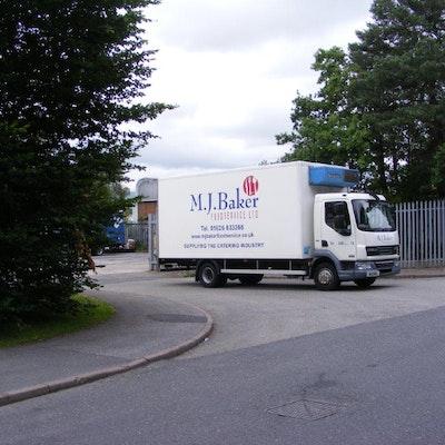 M.J. Baker Foodservice Lorry