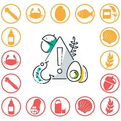 Erudus Food Allergy Icons