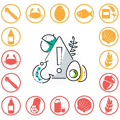 Erudus Food Allergy Icons